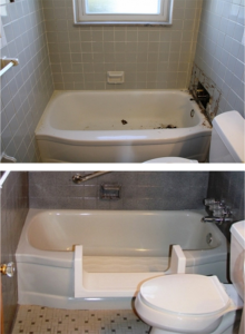 Bathroom Aids Contractor in Belleville MI - Bathtub Modifications | Surface Solutions - first
