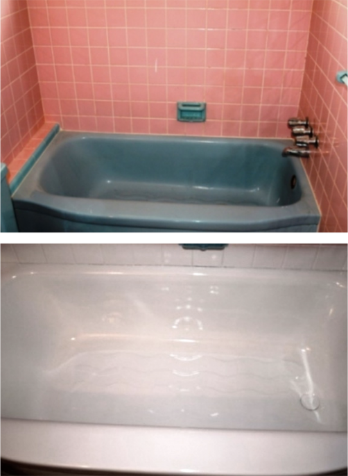 browse our before and after photos to discover how we can transform even the most stained and discolored tubs into looking brand new again