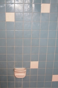 Outdated Tile Before