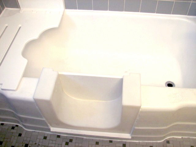 handicap bathtub conversion. surface solutions, llc installs the clean cut bathtub conversion system, a proven, time tested ada compliant conversion. handicap