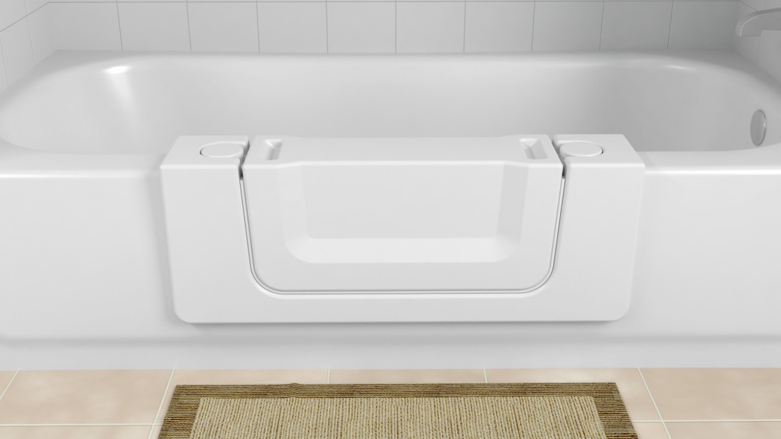 Handicap Bathroom Installation Contractor for Milford MI - Bathtub Modifications | Surface Solutions - Safeway_ConvertibleTub_wPlug_V3