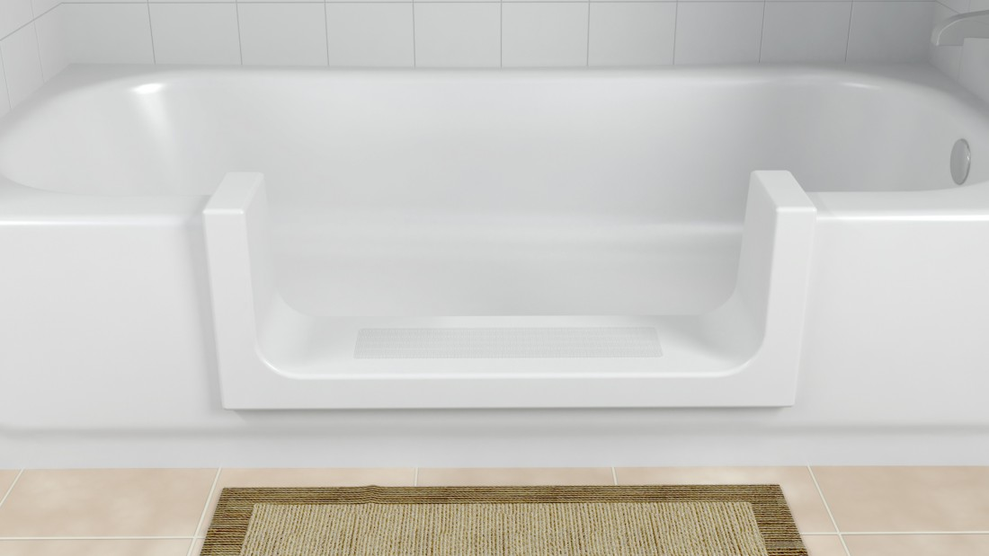 Bathroom Aids Contractor in Livonia MI - Bathtub Modifications | Surface Solutions - StepTub_V3_R1